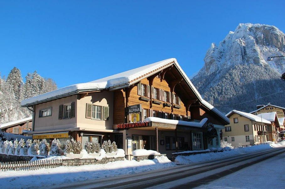 Hotel-Restaurant Alpina - Winter